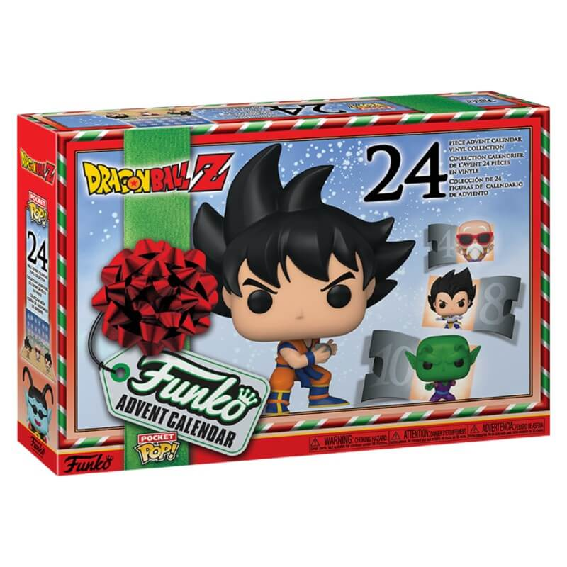 Pocket POP! Calendario Adviento: Dragon Ball Z: 24 piezas coleccionables