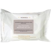 KORRES Milk Proteins Cleansing Wipes - Alle Hauttypen(25 Tücher)