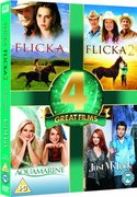 4 Great Films - Aquamarine / Just My Luck / Flicka 1 en 2