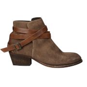 H Shoes by Hudson Women's Horrigan Suede Ankle Boots - Beige