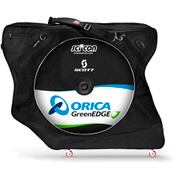 Scicon Aerocomfort 2.0 TSA Bike Bag - Black - Team Orica Greenedge Edition