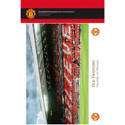 """Manchester United Old Trafford Interior - 10"""""""" x 8"""""""" Bagged Photographic"""