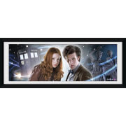 "Doctor Who Main - 30"""" x 12"""" Framed Photographic"