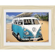 VW Californian Camper Camper - 30 x 40cm Collector Prints