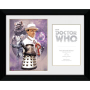 Doctor Who 7th Doctor Sylvester McCoy - 30 x 40cm Collector Prints