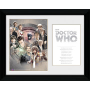 Doctor Who Doctors - 30 x 40cm Collector Prints