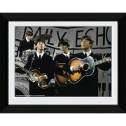 """The Beatles Daily Echo - 8"""""""" x 6"""""""" Framed Photographic"""