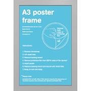Silver Frame A3