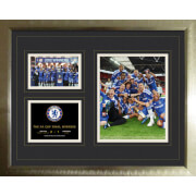 "Chelsea FA Cup Winners 11/12 - High End Framed Photo - 16"""" x 20"""