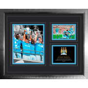 "Manchester City FA Cup Win 2010 - 2011 - High End Framed Photo - 16"""" x 20"""