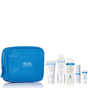 REN Cleanse, Tone, Hydrate and Nourish Kit (Worth £38.00)
