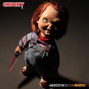 Mezco Child's Play: Talking Sneering Chucky 15 Inch Doll
