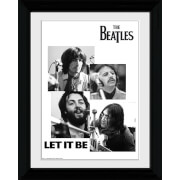 The Beatles Let It Be - Collector Print - 30 x 40cm