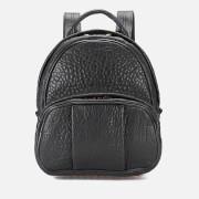 Alexander Wang Women's Dumbo Pebble Leather Backpack - Black/Rose Gold Hardware