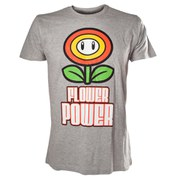 Flower Power - T-Shirt (Grey)