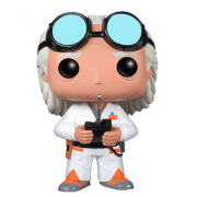 Ritorno al Futuro - Doc Brown Figura Pop! Vinyl