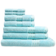 Restmor 100% Egyptian Cotton 7 Piece Supreme Towel Bale Set ( 500gsm)- Aqua