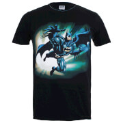 Batman Herren T-Shirt - Reaching Jump - Schwarz