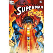 Superman Burn - Maxi Poster - 61 x 91.5cm