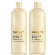 label.m Brightening Blonde Shampoo and Conditioner 1000ml Duo (Worth £93.85)