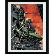DC Comics Arrow Fire - 8x6 Framed Photographic