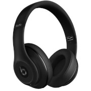 Beats By Dr. Dre: Studio 2.0 Noise Cancelling Wireless Headphones - Matt Black - Apple Refurbished
