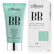skinChemists Triple Protect BB Cream with SPF 30 - Light (30ml)