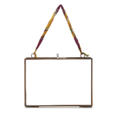 Nkuku Kiko Glass Frame - Antique Copper - Landscape 5