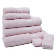 Restmor 100% Ägyptische Baumwolle 7 Stück Premium Handtuchset - Pink
