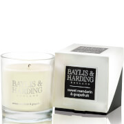 Baylis & Harding Mosaic Sweet Mandarin and Grapefruit Single Wick Candle