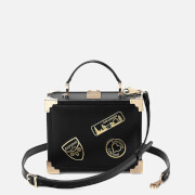 Aspinal of London Women's Mini Trunk Bag - Black