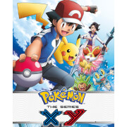 Pokémon X and Y - Mini Poster - 40 x 50cm