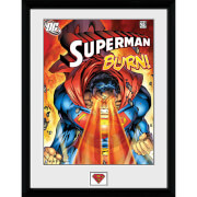 DC Comics Superman Burn - 16x12 Framed Photographic