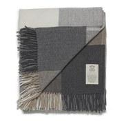 Avoca Cashmere Blend Rome Throw - Grey - 142 x 183cm