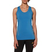 Asics Women's Running Tank Top - Jeans Blue