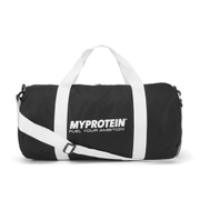 MyProtein Barrel Bag - Črna