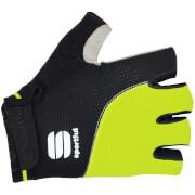 Sportful Giro Gloves - Black/Yellow Fluo