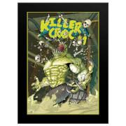 DC Comics Killer Croc Sewers - 16 x 12 Framed Photgraphic