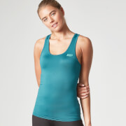 Myprotein Damen Racer Back Scoop Top mit Support - Türkis