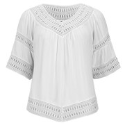 VILA Women's Magus Top - White