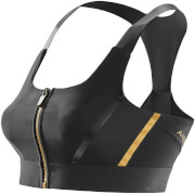 Skins A400 Women's Compression Crop Top - Black/Gold