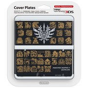 New Nintendo 3DS Cover Plate - Monster Hunter 4 Ultimate (Black)