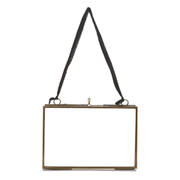 Nkuku Kiko Glass Frame - Antique Brass - Landscape 4