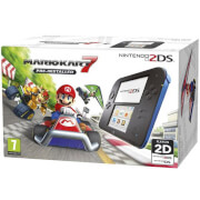 Nintendo 2DS Blue/Black + Mario Kart 7