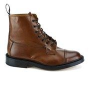 Knutsford by Tricker's Men's Allan Toe Cap Leather Lace Up Boots - Tan