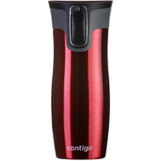 Contigo West Loop Autoseal Travel Mug with Lock (470ml) - Red
