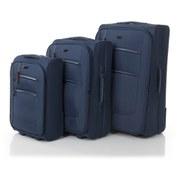 Redland '50FIVE Collection' 2 Wheel Trolley Suitcase Set - Navy - 75/65/55cm (3 Piece)