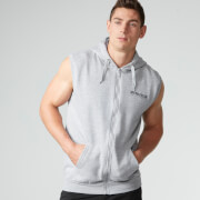Myprotein Men's Sleeveless Hoodie - Grey Marl