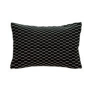 Monochrome Fleck Cushion - Black