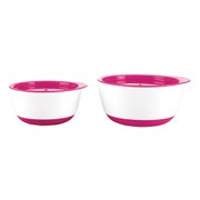 OXO Tot Small and Large Bowl Set - Raspberry